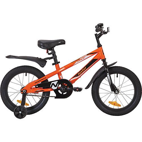 Велосипед Novatrack Juster 16 дюймов, оранжевый от Novatrack