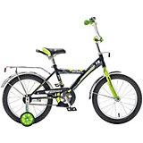Велосипед Novatrack Astra 16 дюймов, черный