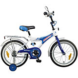 Велосипед Novatrack А-Формула 12 дюймов, монокок, сине-белый