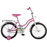 """Велосипед Novatrack Tetris 18"""", розовый"""