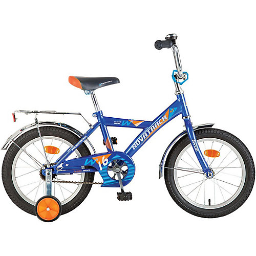"Велосипед Novatrack Twist 16"", синий от Novatrack"
