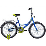 "Велосипед Novatrack Urban 20"", синий"