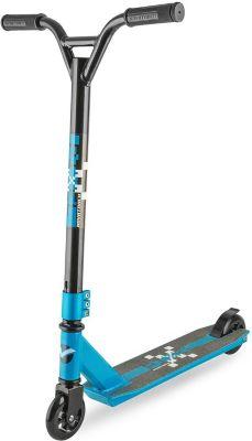 Трюковый самокат Novatrack Pixel, синий