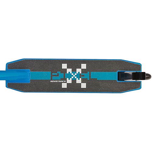 Трюковый самокат Novatrack Pixel, синий от Novatrack