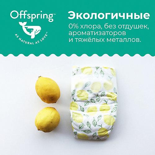Эко-подгузники Offspring Котики L 9-13 кг., 36 шт. от Offspring