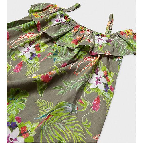 Платье Original Marines для девочки - зеленый от Original Marines