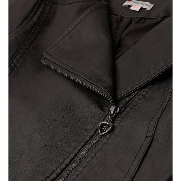 Куртка кожаная Original Marines для девочки