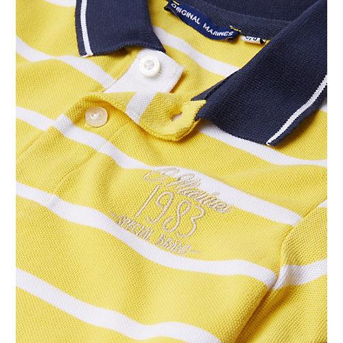 Поло Original Marines - желтый от Original Marines