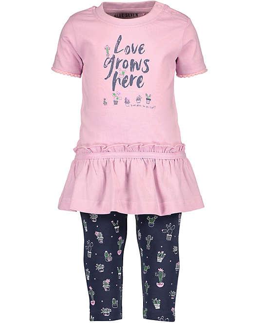 c398ebc63d6c67 Set Baby T-Shirt + Caprileggings für Mädchen
