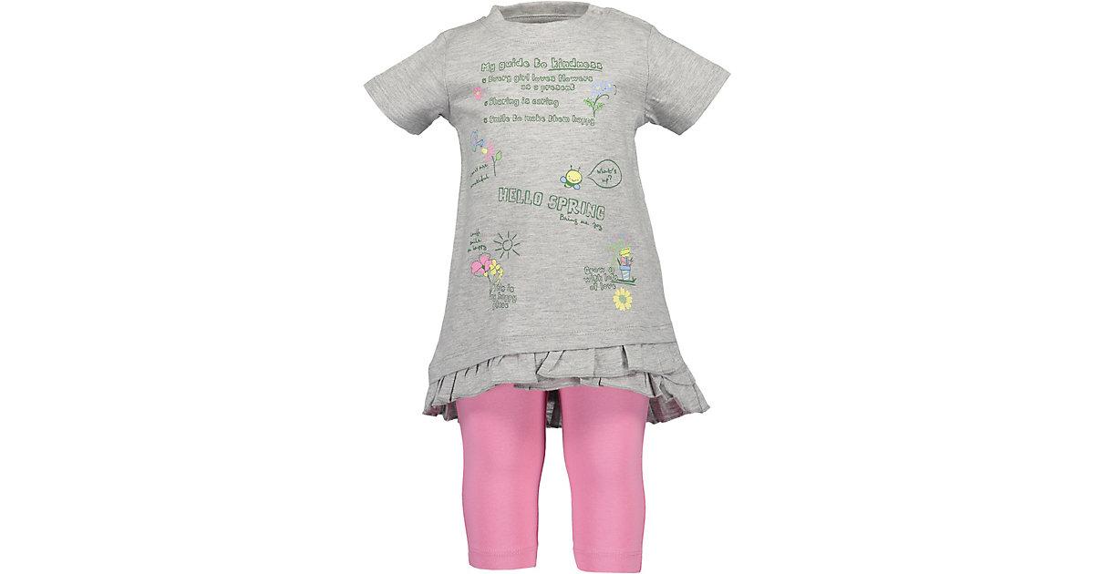 BLUE SEVEN · Baby Set T-Shirt + Caprileggings Gr. 86 Mädchen Kleinkinder
