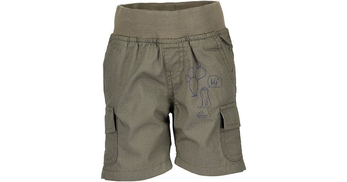 Baby Shorts  grün/anthrazit Gr. 62 Jungen Baby