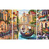 "Картина-триптих по номерам Schipper ""Венеция - Город в Лагуне"" 50х80 см"