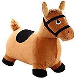 Мяч-прыгун Shantou Gepar Лошадка, коричневая