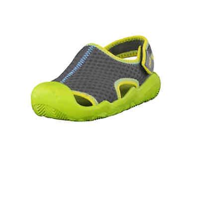 a33b3b3f5c52 Crocs Sandale Swiftwater 204024-0A1 mit verstellbarem Verschluss Badeschuhe  ...