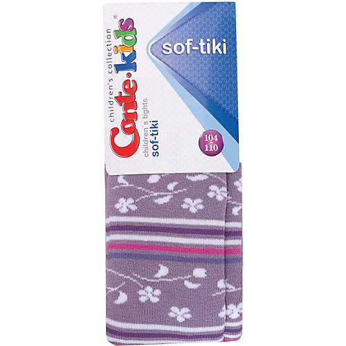Колготки Conte-kids Sof-Tiki - фиолетовый от Conte-kids