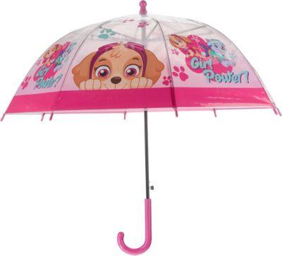 Idena Kinderregenschirm Jungen Mädchen Marienkäfer Kinderschirm Stockschirm Rot