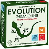 """Настольная игра Правильные игры """"Эволюция"""", подарочный набор, базовый + 2 дополнения"""