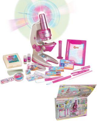 """Набор для исследований Eastcolight """"Большой микроскоп для девочек"""""""
