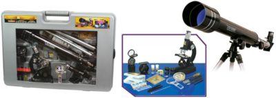 Телескоп и микроскоп Eastcolight, в подарочном кейсе
