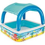 Надувной бассейн с  навесом от солнца Bestway