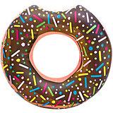Круг для плавания Bestway Пончик, коричневый