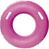 Круг для плавания Bestway с ручками, фиолетовый