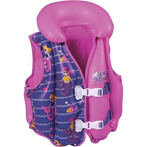 Жилет для плавания Bestway с тканевой подкладкой, розовый от Bestway