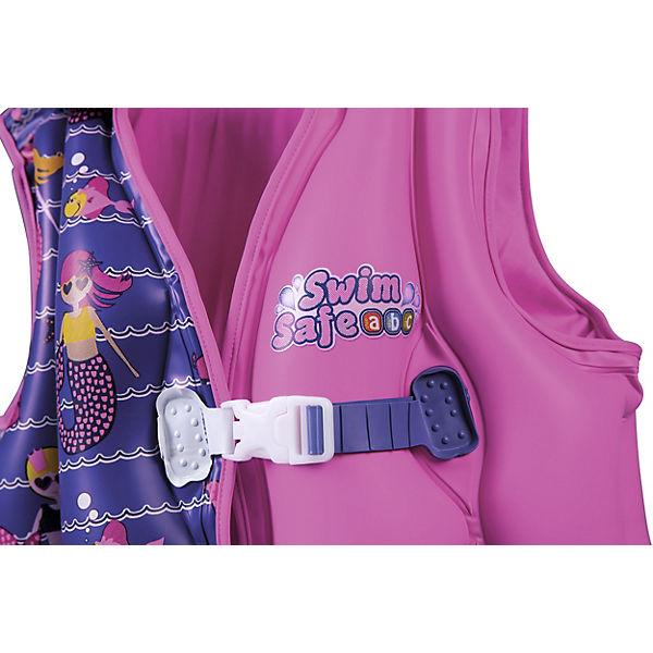 Жилет для плавания Bestway с тканевой подкладкой, розовый