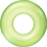 Круг для плавания Bestway Неоновый иней, 91 см, зеленый