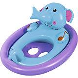 Лодочка для плавания Bestway Животные, голубая