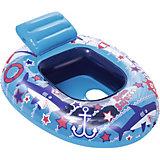Лодочка для плавания Bestway, синяя