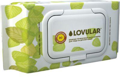 Влажные фито-салфетки Lovular 80 шт.