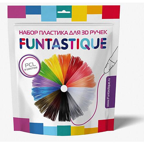 Набор низкотемпературного PCL-пластика для 3д ручек 8 цветов от Funtastique
