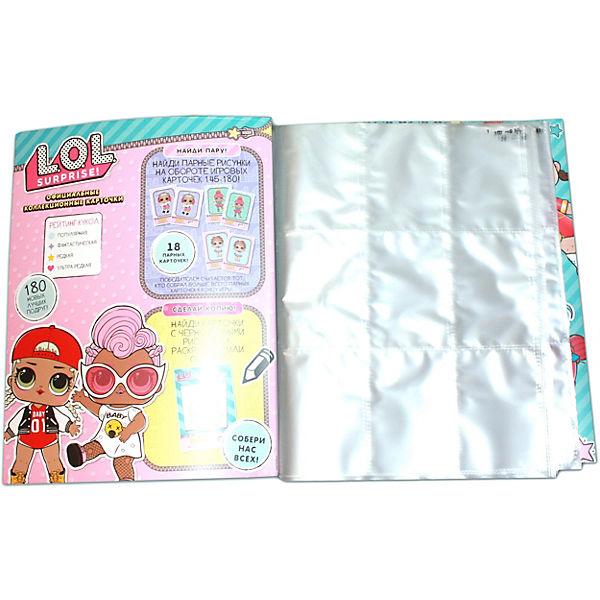 """Стартовый набор Panini """"L.O.L. Surprise! Official TC"""" (папка для хранения и 2 пакетика карточек)"""