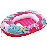 Надувная лодочка Bestway, розовая
