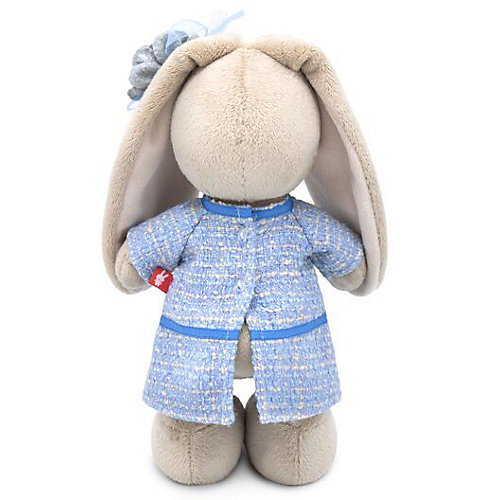 Мягкая игрушка Budi Basa Зайка Ми в голубом платье в клетку, 25 см от Budi Basa