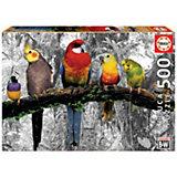 """Пазл Educa """"Птицы в джунглях"""", 500 деталей"""
