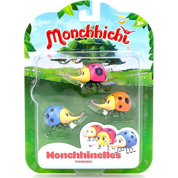 Набор фигурок Monchhichi 3 Мончижужи