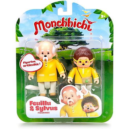 Набор фигурок Monchhichi Лифи и Сильвус от Monchhichi