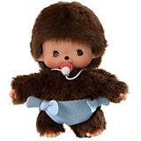 Мягкая игрушка Monchhichi Бэбичичи, мальчик в подгузнике, 15 см