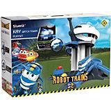 """Игровой набор Silverlit Robot Trains """"Дозорная башня"""""""