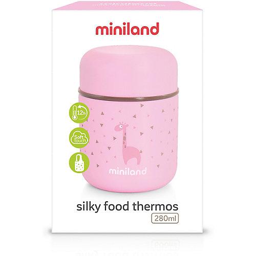 Термос Miniland Silky Thermos Mini 280 мл, розовый - розовый от Miniland