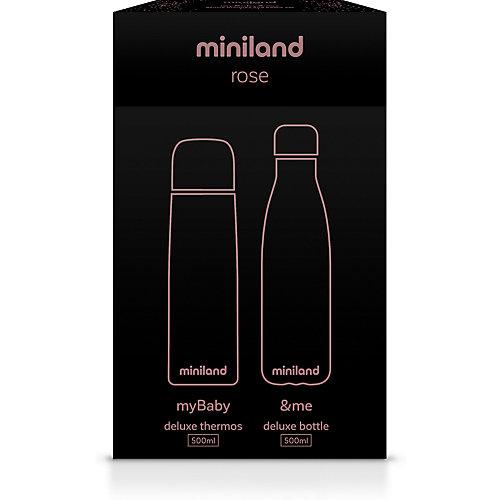 Термос и термобутылка Miniland MyBaby&Me 500 мл, бронзовый - розовый от Miniland