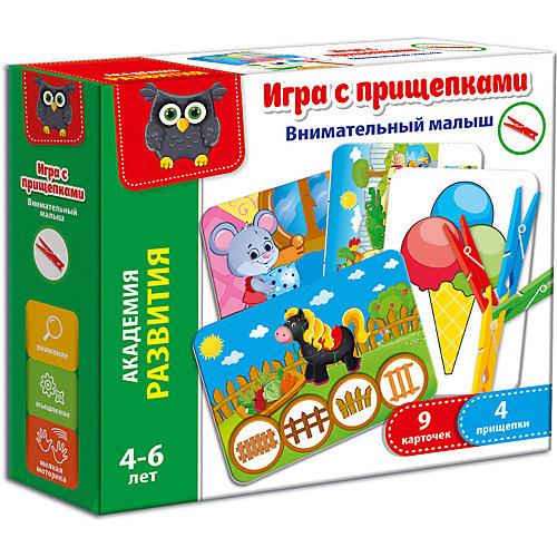 """Игра с прищепками Vladi Toys """"Внимательный малыш"""" от Vladi Toys"""