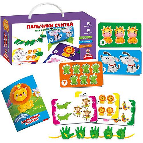 """Развивающая игра Vladi Toys """"Пальчики считай для самых маленьких"""""""