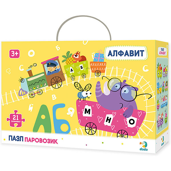 "Пазл Dodo Паровозик ""Алфавит"""