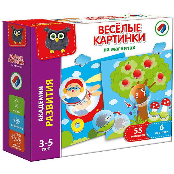 """Настольная игра Vladi Toys """"Веселые картинки на магнитах"""""""