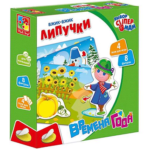 "Липучки Vladi Toys Вжик-вжик ""Времена года"" от Vladi Toys"
