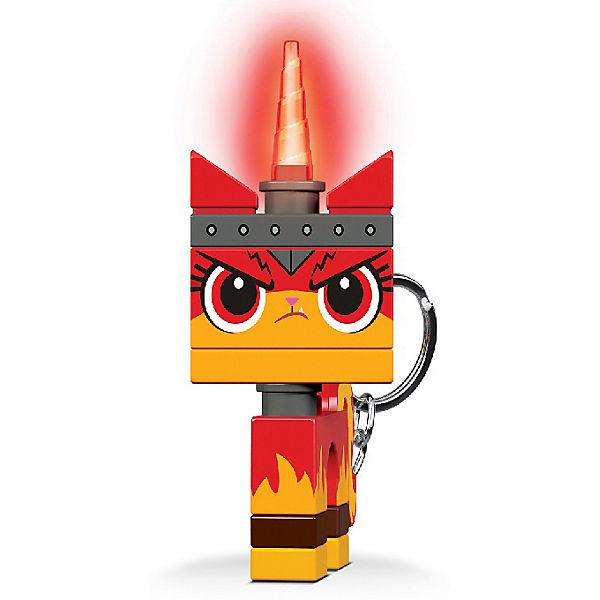 Брелок-фонарик для ключей LEGO Movie 2: Angry Kitty