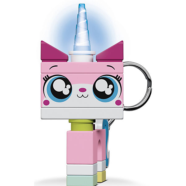 Брелок-фонарик для ключей LEGO Movie 2: Unikitty